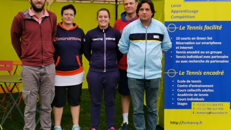 TMC Séniors 4 éme et 3 éme série Marcq Tennis Club les 23 et 24 Mars 2019