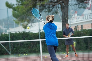 66073888 - children at school during a dribble of tennis